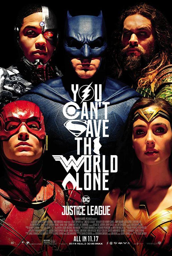 8. 'Justice League' (2017)