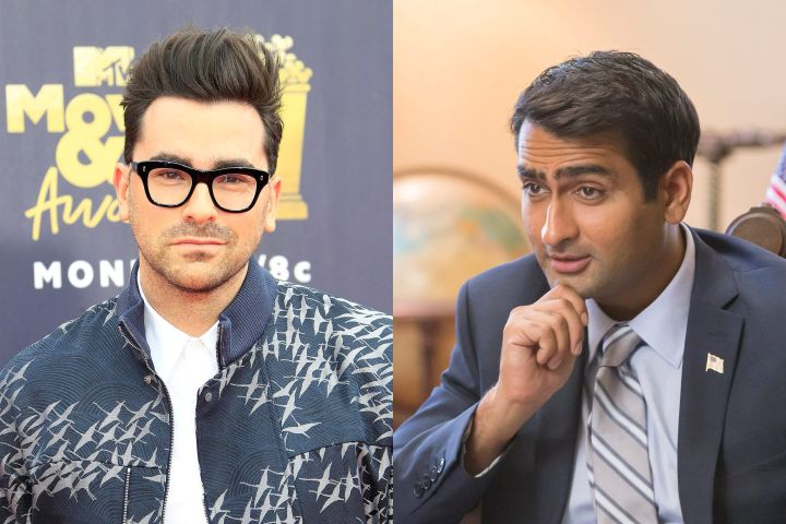 Dan Levy, Kumail Nanjiani. Photo: CP Images