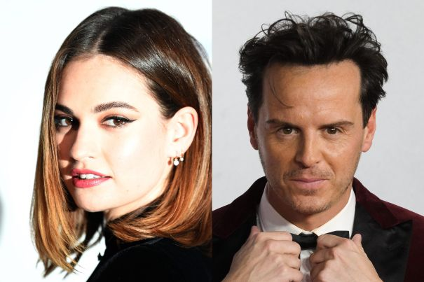 Lily James & Andrew Scott To Star In 'Pursuit Of Love'