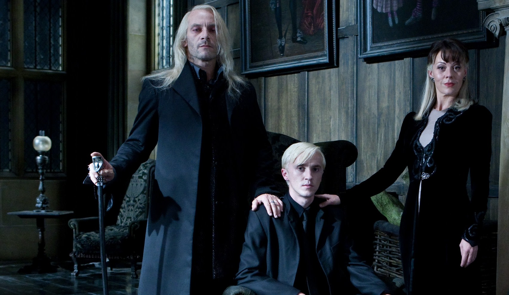 Tom Felton, Jason Isaacs, Helen McCrory Have A Malfoy Family Reunion For 'Harry Potter At Home' Reading