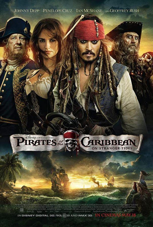 1. 'Pirates Of The Caribbean: On Stranger Tides' (2011)