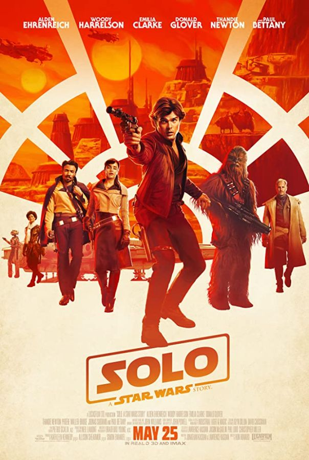 15. (tie) 'Solo: A Star Wars Story' (2018)