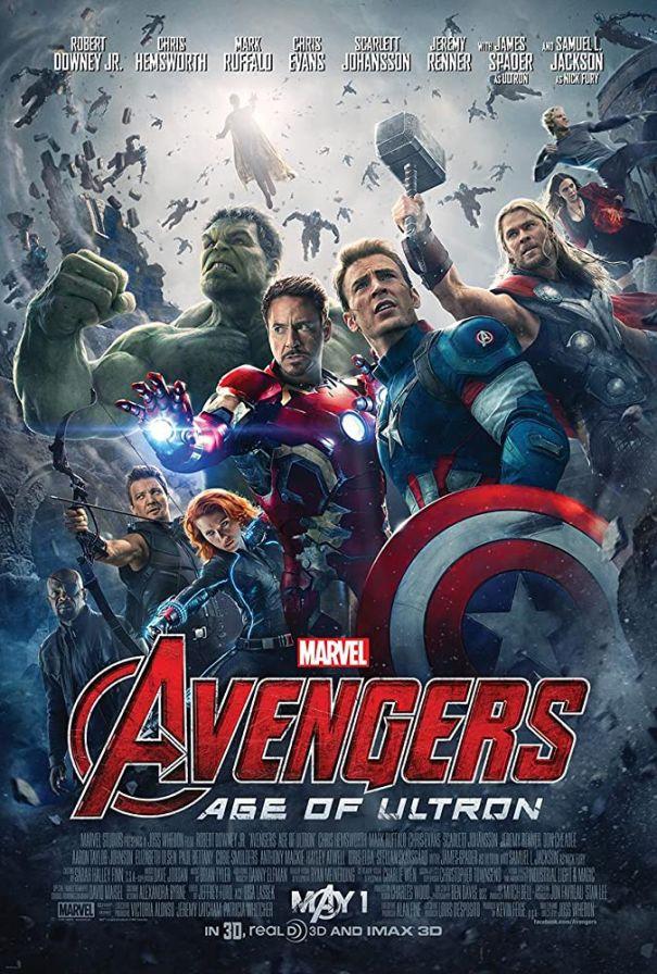 2. 'Avengers: Age Of Ultron' (2015)