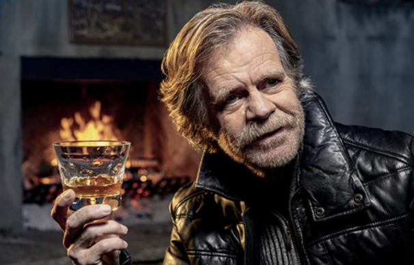 William H. Macy And His Whiskey