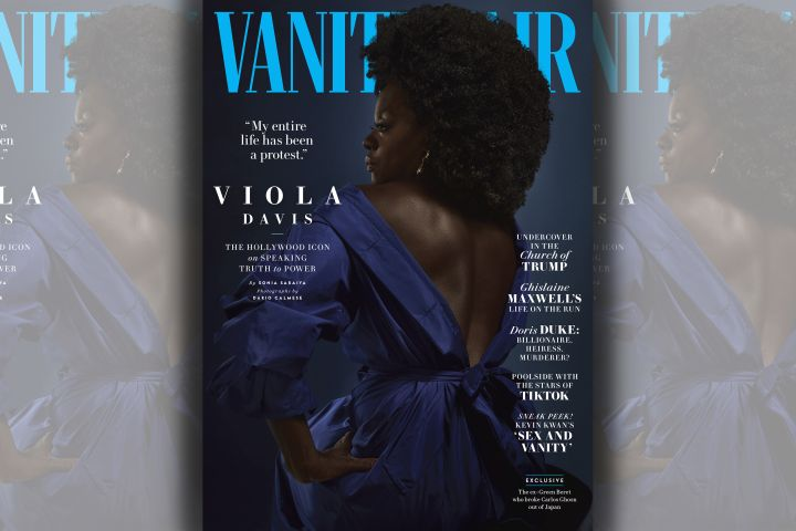 Viola Davis. Photo: Dario Calmese for Vanity Fair