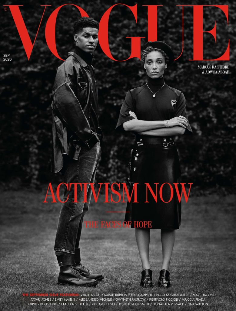 Vogue September issue cover. Credit: Misan Harriman
