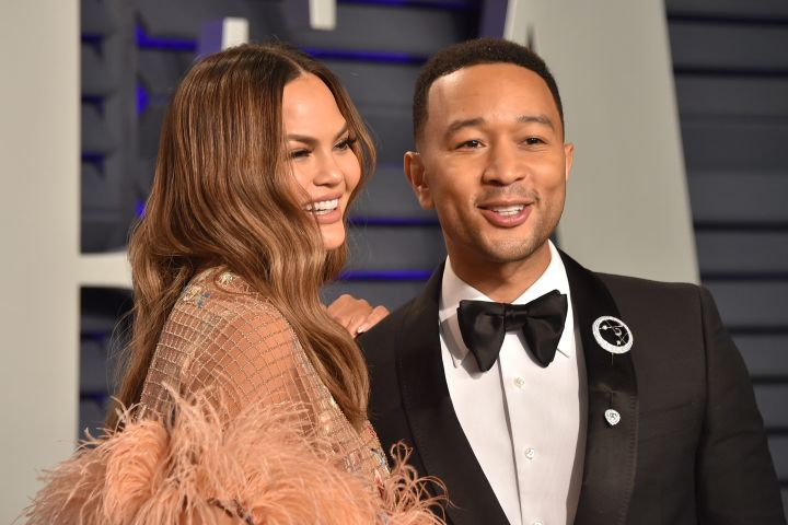 Chrissy Teigen and John Legend. Photo: CPImages
