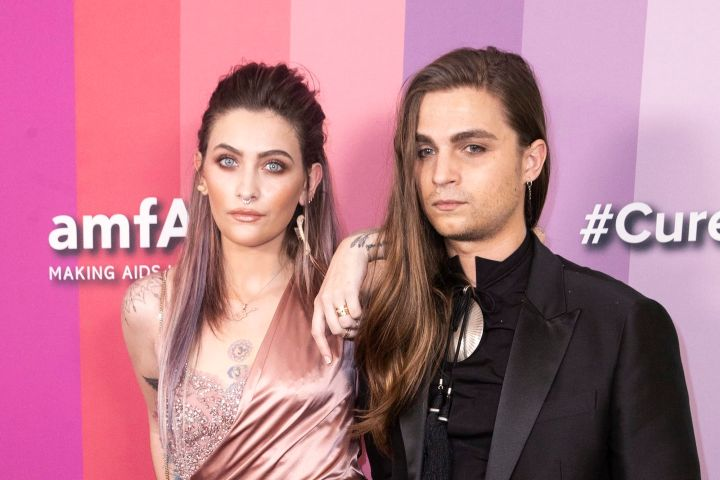 Paris Jackson and Gabriel Glenn. Photo: EPA/ETIENNE LAURENT/CP Images
