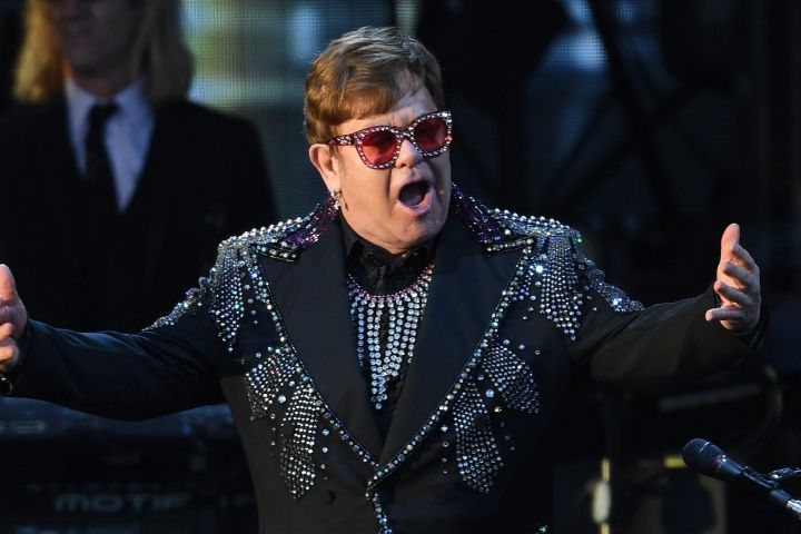 Elton John. Photo: EPA/JULIAN SMITH AUSTRALIA AND NEW ZEALAND OUT/CP Images