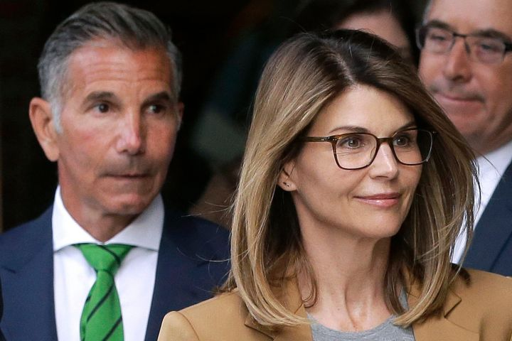 Lori Loughlin and Mossimo Giannulli. Photo: CPImages