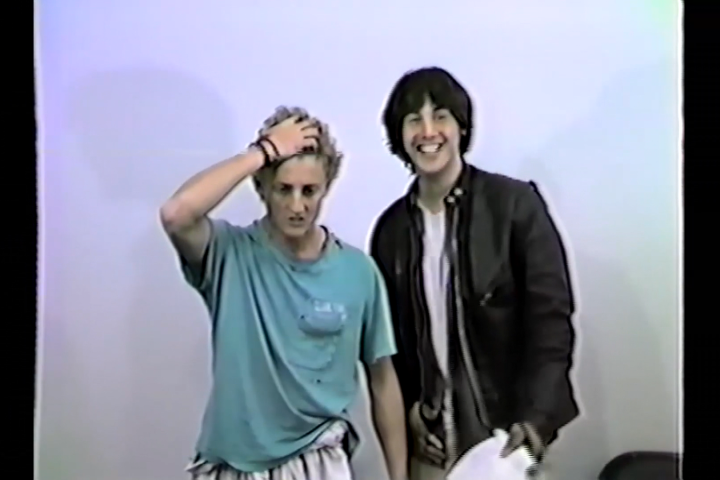 Baby Faced Keanu Reeves And Alex Winter Audition For Bill Ted S Excellent Adventure In Resurfaced Video Flipboard