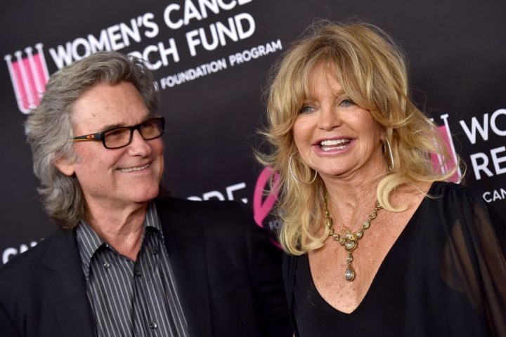 BEVERLY HILLS, CALIFORNIA - FEBRUARY 28: Kurt Russell and Goldie Hawn attend The Women's Cancer Research Fund's An Unforgettable Evening Benefit Gala at the Beverly Wilshire Four Seasons Hotel on February 28, 2019