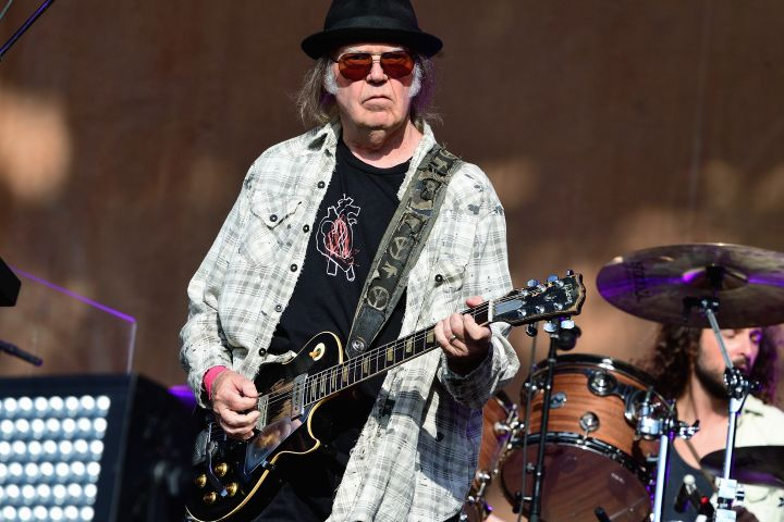 Neil Young. Photo: Getty Images