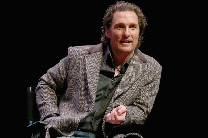 Matthew McConaughey - Getty Images