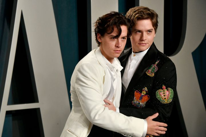 Cole Sprouse and Dylan Sprouse. Photo: CPImages