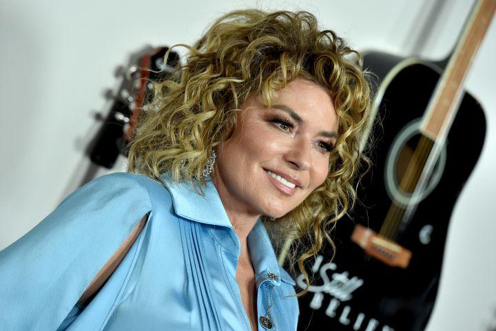 Shania Twain - Getty Images
