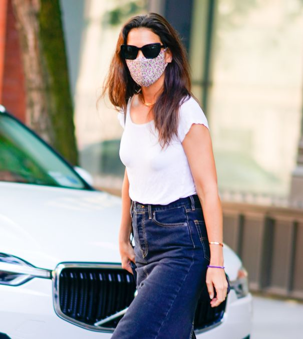 Katie Holmes Staying Safe