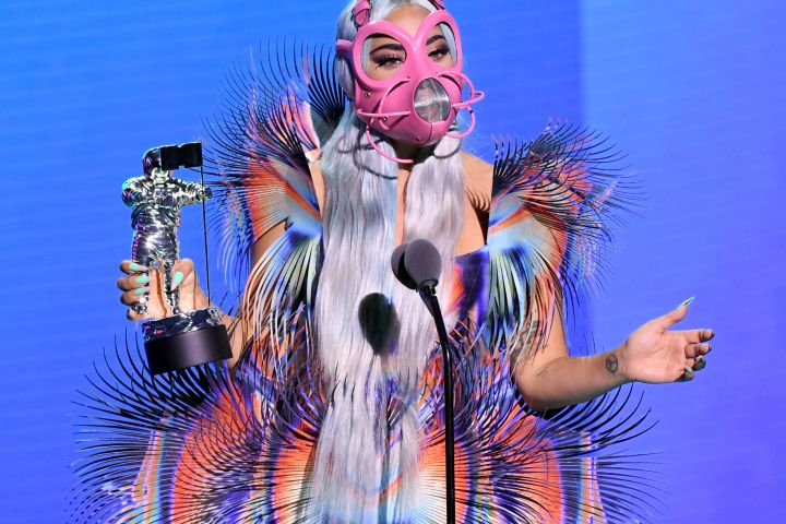 Photo by Kevin Winter/MTV VMAs 2020/Getty Images for MTV
