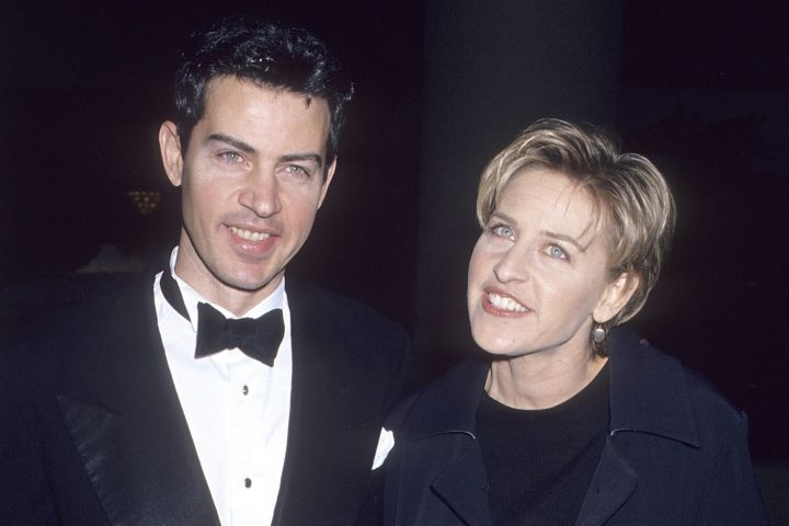 Vance DeGeneres, Ellen DeGeneres. Photo by Ron Galella, Ltd./Ron Galella Collection via Getty Images