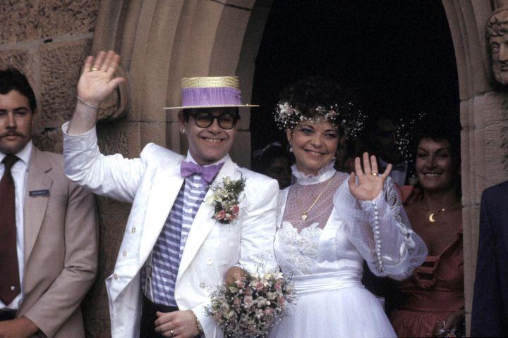Elton John And Renate Blauel - Getty Images