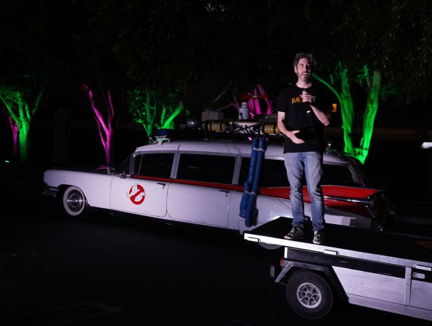 Jason Reitman Attends 'Ghostbusters' Screening