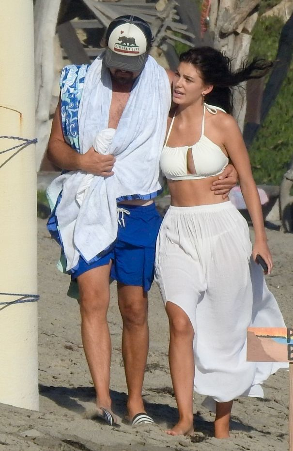 Leonardo DiCaprio And Camila Morrone In Malibu