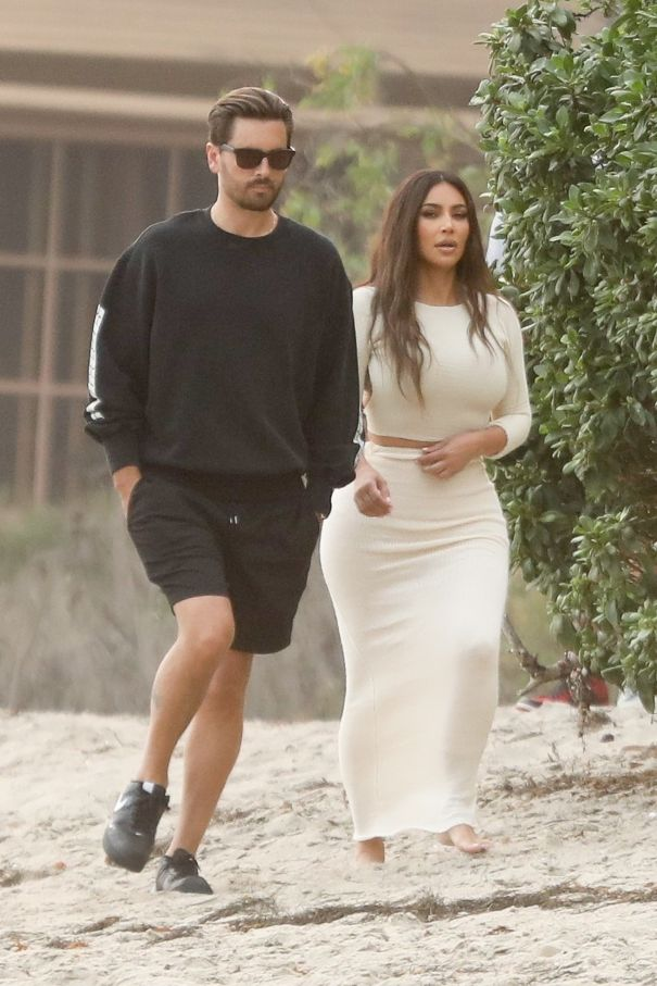Kim Kardashian And Scott Disick Film 'KUWTK'