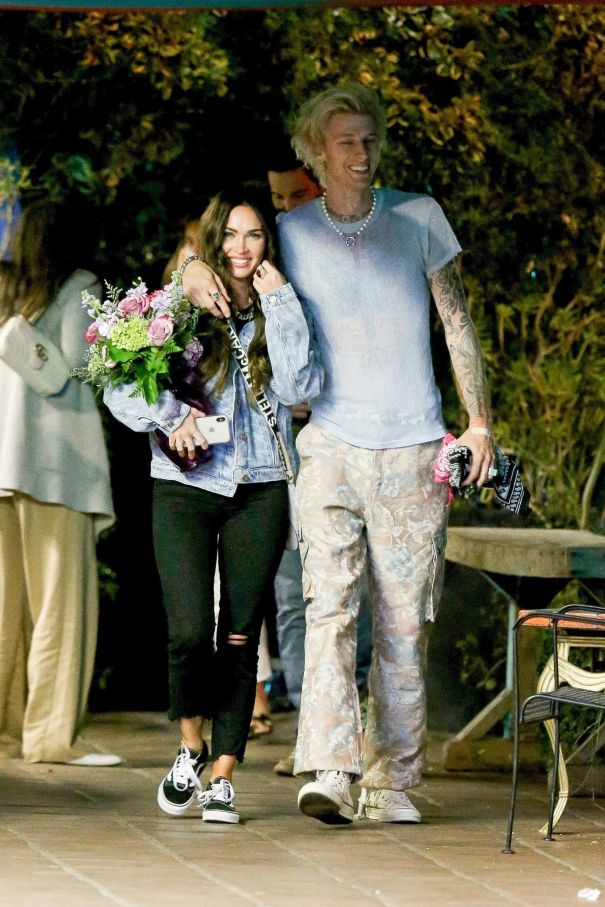 Megan Fox And Machine Gun Kelly's Date Night
