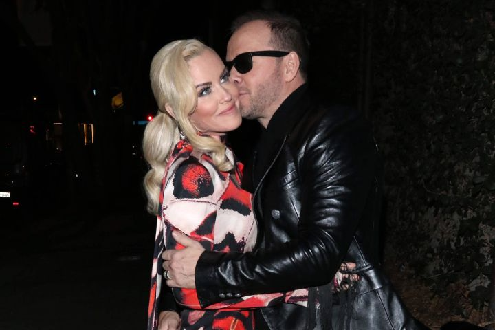 Donnie Wahlberg and Jenny McCarthy. Photo: CPImages