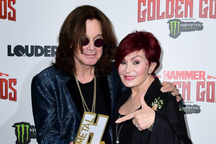 Ozzy and Sharon Osbourne. Photo: CPImages