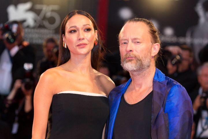 Thom Yorke, Dajana Roncione. Photo: Hubert Boesl/DPA via ZUMA Press