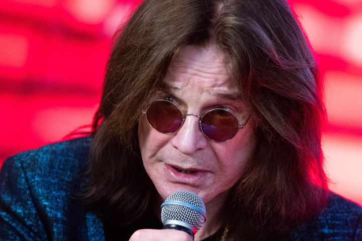 Ozzy Osbourne. Photo: Sergei Bobylev/TASS/CP Images