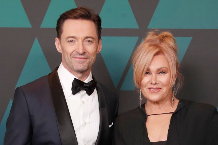 Hugh Jackman and Deborra-lee Furness. Photo: EPA/MIKE NELSON/CP Images