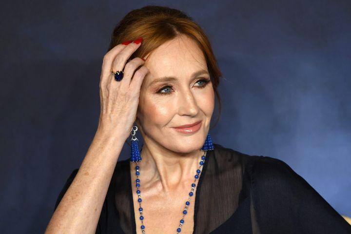 J.K. Rowling. Photo: EPA/NEIL HALL/CP Images
