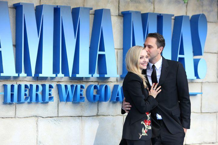 Amanda Seyfried and Thomas Sadoski. Photo: CPImages