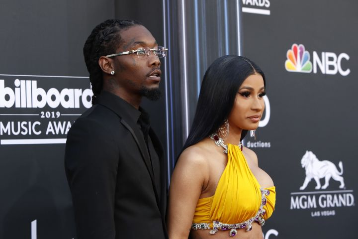 Offset and Cardi B. Photo: CPImages