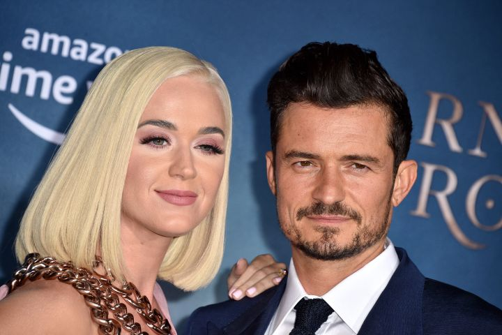 Katy Perry and Orlando Bloom. Photo: Lionel Hahn/ABACAPRESS.COM/CP Images