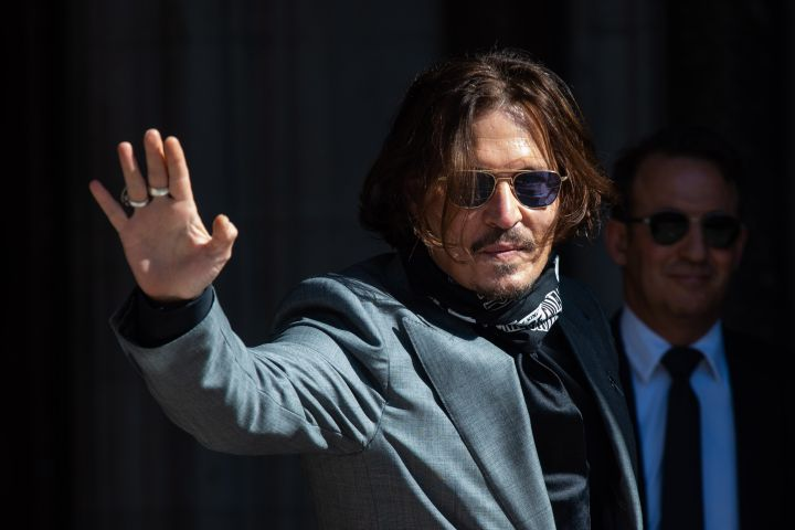 Johnny Depp. Photo: Matt Crossick/Empics/CP Images