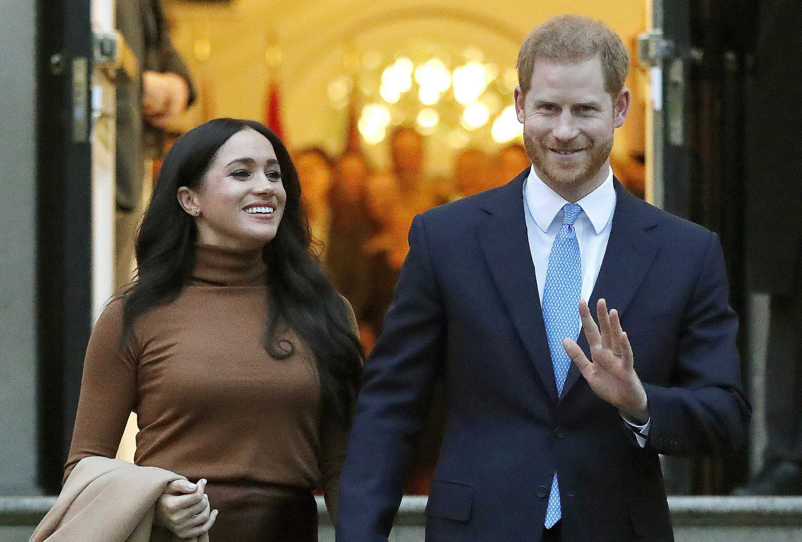 Prince Harry And Meghan Markle Spend First American Thanksgiving In Their New Home