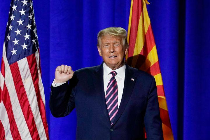 Donald Trump. Photo: AP Photo/Ross D. Franklin/CP Images