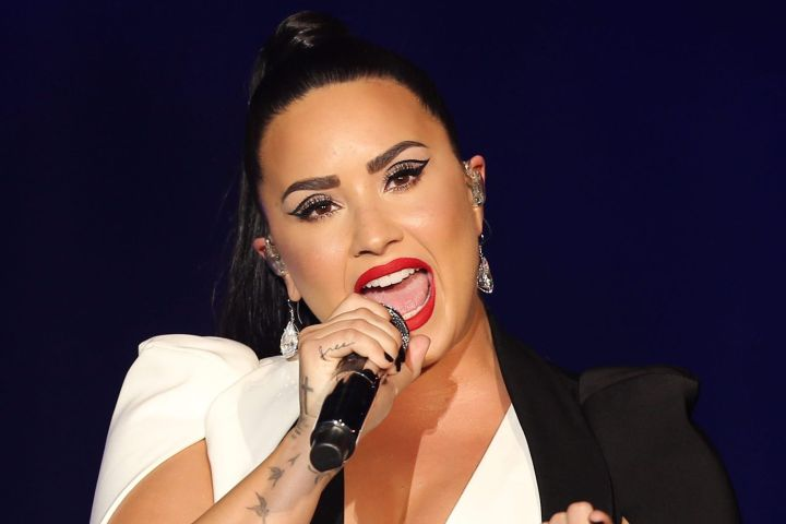 Demi Lovato. Photo: EPA/JOSE SENA GOULAO/CP Images