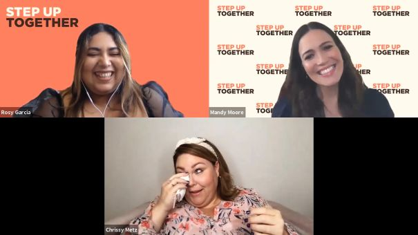 Chrissy Metz And Mandy Moore Join 'Step Up Together' Digital Summit