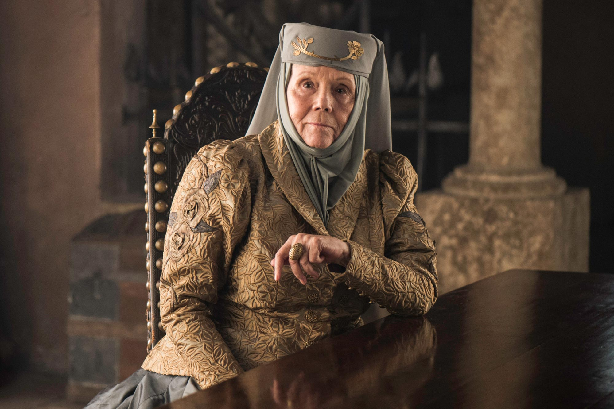'Game Of Thrones' Co-Stars Remember The Late Diana Rigg — Including The Time She Stormed Off The Set