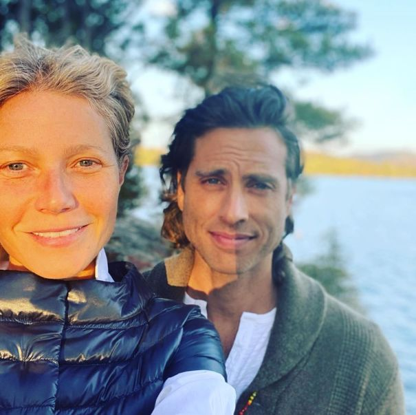Gwyneth Paltrow Celebrates Marriage Bliss