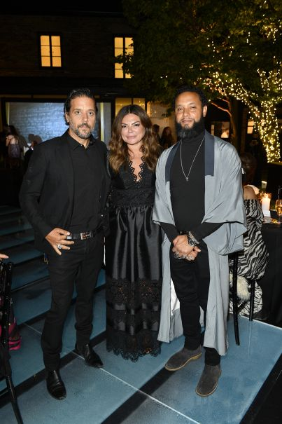 George Stroumboulopoulos, Natasha Koifman, Director X Party At TIFF