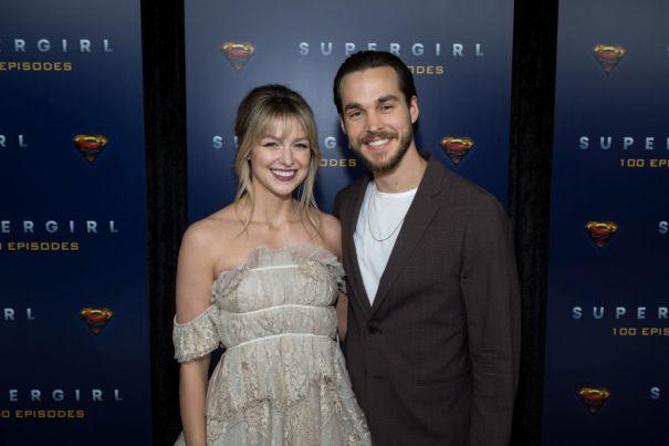 Melissa Benoist + Chris Wood