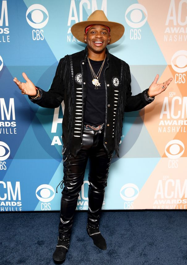 Jimmie Allen Is All Smiles