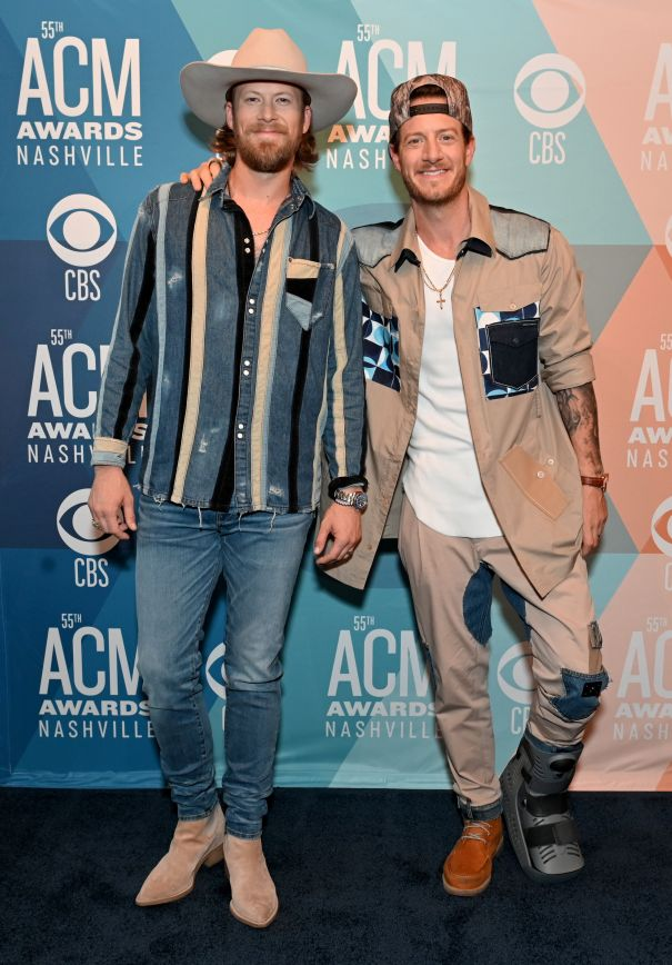 Brian Kelley And Tyler Hubbard Go Casual