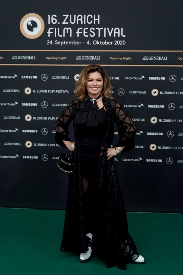 Shania Twain Hits The Zurich Film Festival