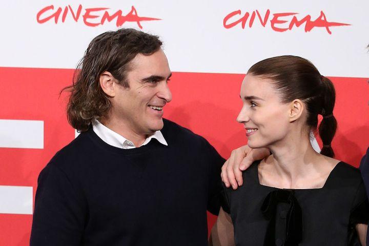 Joaquin Phoenix and actress Rooney Mara